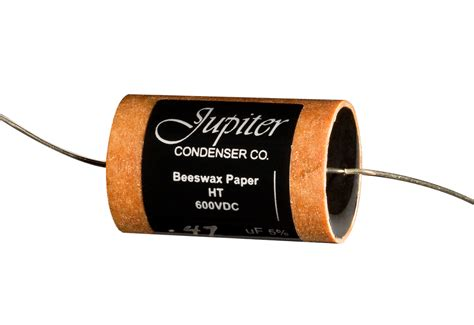 paper capacitor jupiter condenser sound vintage tone