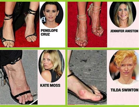 celebrity dry feet 10 hollywood celebrities with the ugliest feet