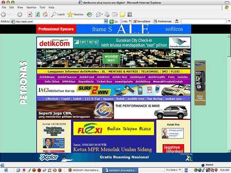 detik jakarta detik com kisah pionir situs berita indonesia computesta