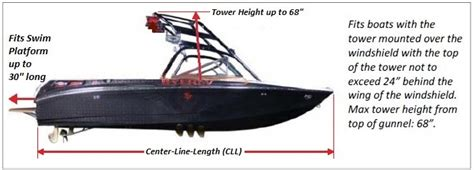 malibu boat replacement rub rail wakeboard tower over the tower boat cover from rnr marine