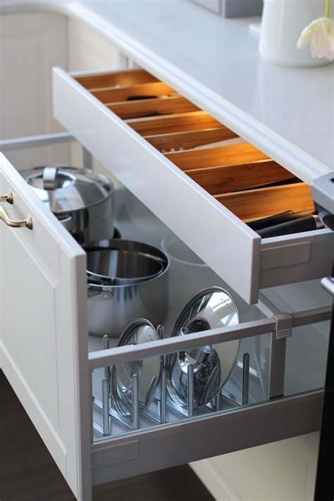 ikea kitchen drawers best 25 pot lid storage ideas on pinterest storing pot