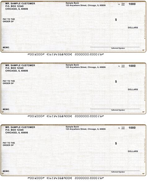 Do You To A Background Check To Buy A Gun Safety Blank Voucher Checks Bottom Style