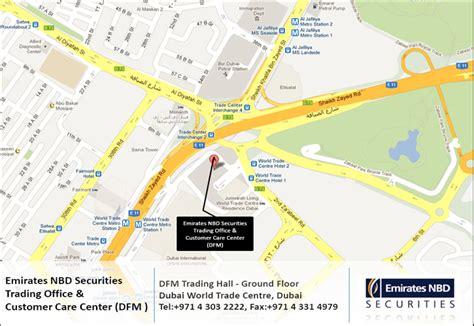 emirates nbd customer care emirates nbd securities customer care our location