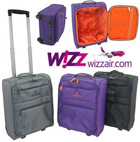 wizz cabin baggage wizz air cabin luggage trolley bag lightweight