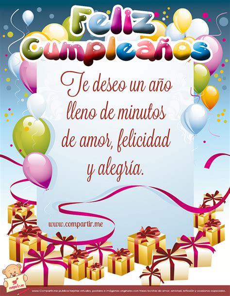 imagenes feliz cumpleaños hija para facebook im 225 genes para compartir tarjetas con frases de cumplea 241 os