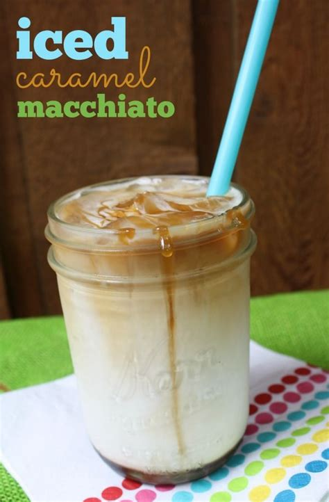 homemade iced caramel macchiato homemade caramels homemade and how to make an