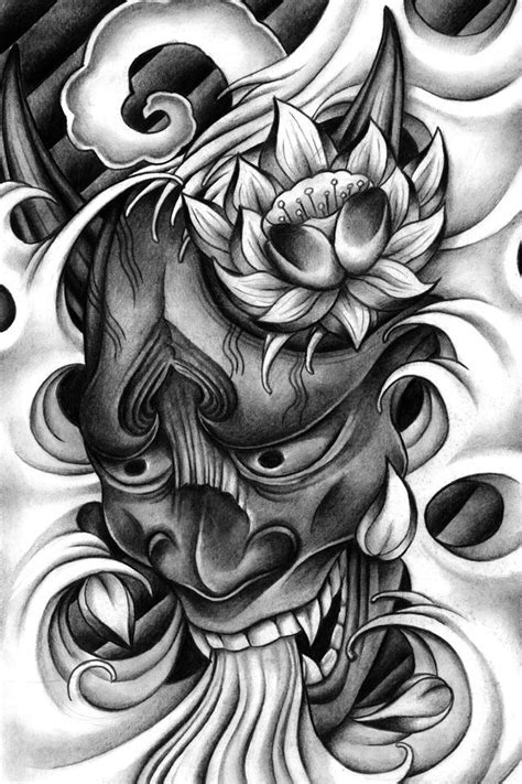 hannya mask tattoos designs the 25 best ideas about hannya mask on
