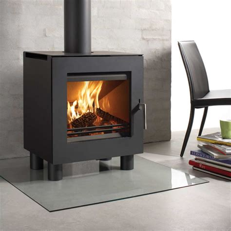 Contemporary Wood Burning Stoves Westfire 23 Stove Reviews Uk