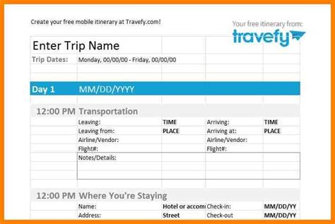 8 flight itinerary template appeal leter