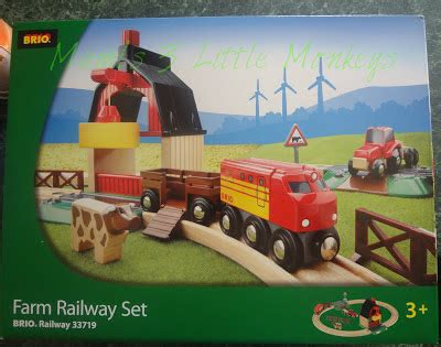 brio farm set mami s 3 little monkeys schylling brio farm railway set