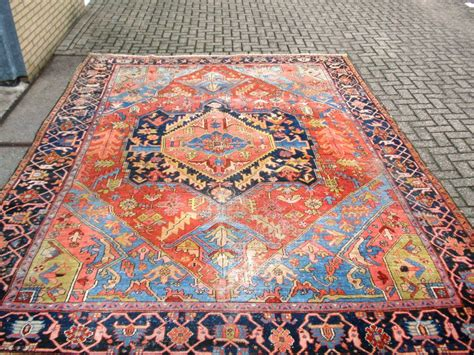 Colorful Area Rugs Colorful Heriz Area Antique Rug With