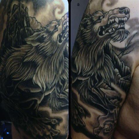 werewolf tattoo designs 80 designs for moon folklore