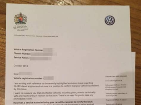 Complaint Letter Volkswagen Volkswagen Corporate Complaints Number 2 Hissingkitty