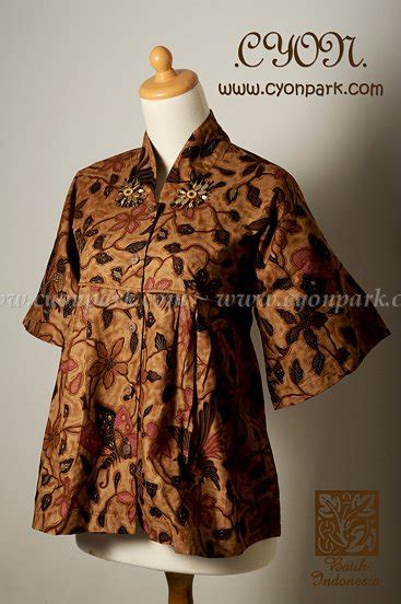 Dress Atasan Blouse Wanita Motif Batik Original Distro Srs 482 blouse batik modern for fashion originalbatik handmade design bild
