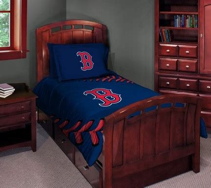 red sox bedroom boston red sox twin full comforter set onlinesports com