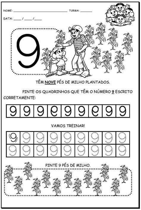 Bruxinha Sabidinha: numerais turma da Mônica
