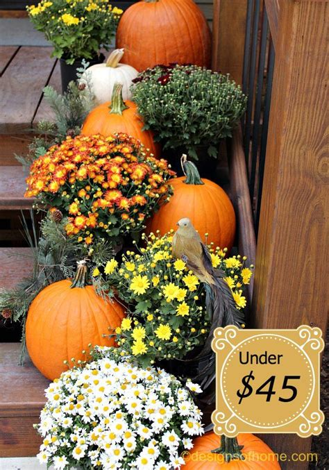 fall outside decorations outside fall decor fall front