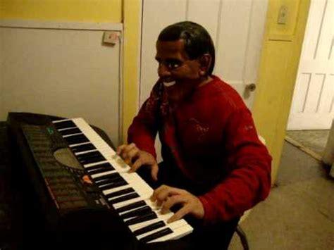 Keyboard Obamba mr president obama play piano