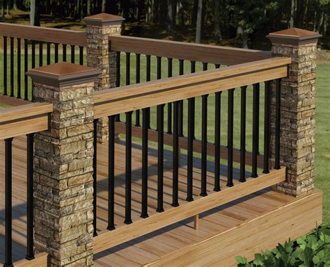 Deck Railing And Balusters Redesigned Deckorators Postcover Has Look And Feel Of Real