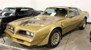 Pontiac Firebird 1978 Trans Am 1978 Pontiac Firebird Trans Am Gold Se