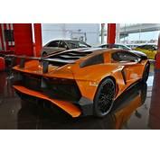 Incredible Orange Lamborghini Aventador SV For Sale In