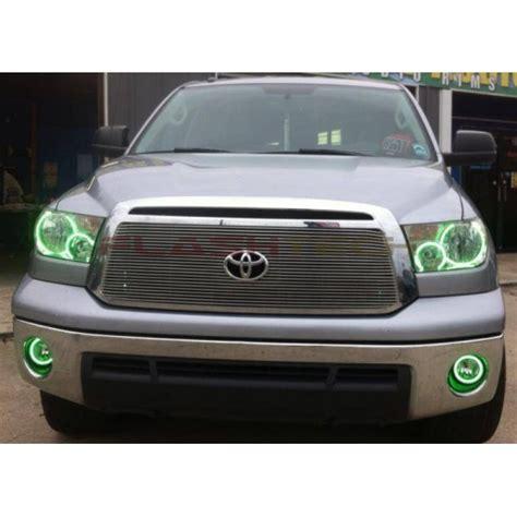 2007 toyota tundra fog light bulb size toyota tundra v 3 fusion color change halo fog light kit