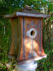 Adore this art deco birdhouse by roundhouseworks via etsy etsy has