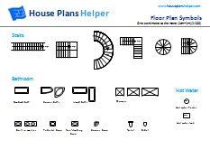 how to read a floor plan symbols