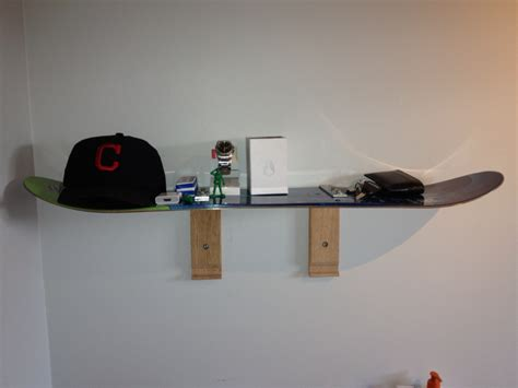 Snowboard Shelf by Made A Shelf From Snowboard Somethingimade
