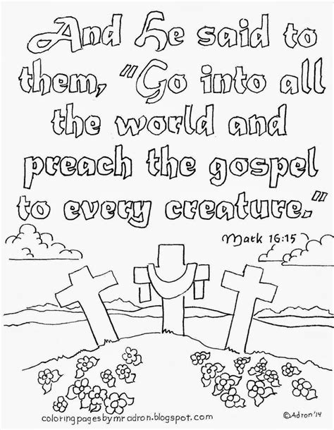 coloring pages for kids by mr adron matthew 724 the 20 best jesus gave the great commission matthew 28 16 20