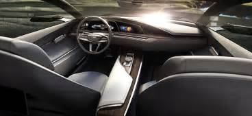 Cadillac Interiors Cadillac Escala Concept Debuts At Pebble With