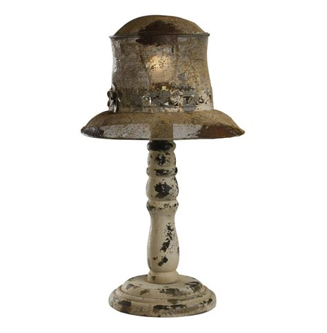 French Country Table Lamps - hats off french country rustic table lamp kathy kuo home