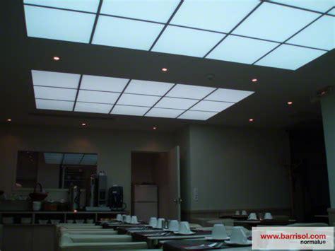 Luminous Ceiling Panels by Barrisol Ceiling Tiles Details