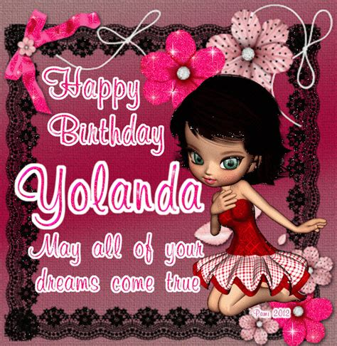 yolanda birthday glitter graphics the community for graphics enthusiasts