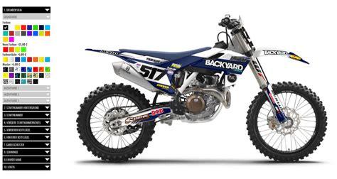 design graphics mx motocross dekore selbst konfigurieren backyard design