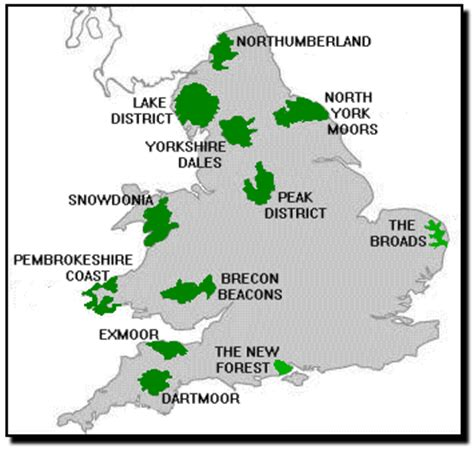 map uk national parks image gallery national parks map uk