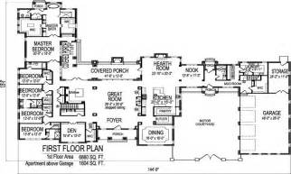 big one story house floor plans floor plans for one