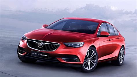 buick regal sedan 2018 buick regal sedan revealed in shanghai minus gs model
