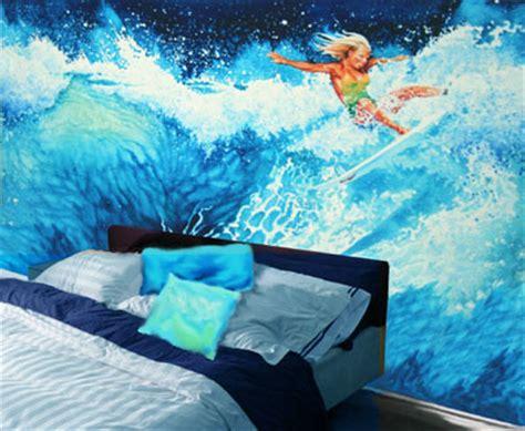 surfing wall murals surfing sports mural by hanne lore koehler