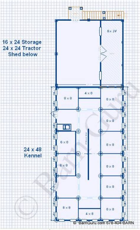 Kennel Floor Plans | dog boarding kennel building plans quotes