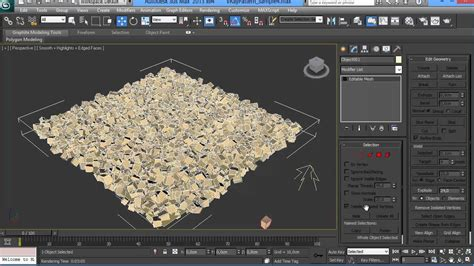 tutorial autocad to 3ds max vraypattern tutorial 1 making gravel with multiscatter