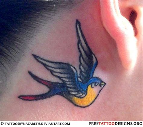 swallow tattoo behind ear meaning 18 best logos swipe file images on pinterest tattoo