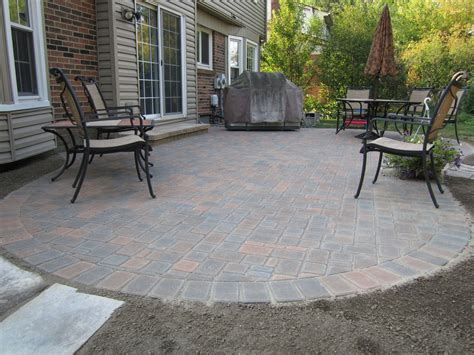 Small Paver Patio Designs by Paver Patio Ideas For Enchanting Backyard Amaza Design