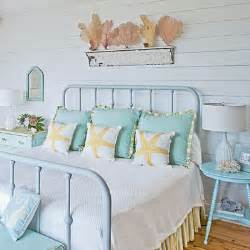 Coastal Cottage Bedroom by Coastal Pastels 100 Comfy Cottage Rooms Coastal Living