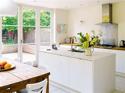 Galley Kitchen Extension Ideas Extending A Terraced House Real Homes Pinteres