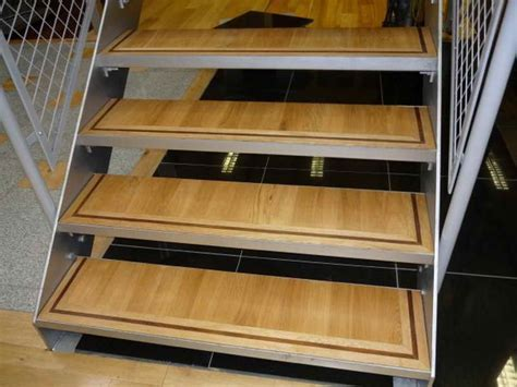 Home Remodeling : Wood Flooring For Stairs Metal Frame How