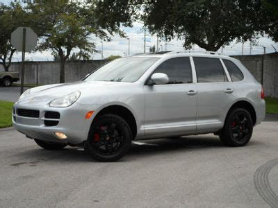 porsche suv blacked out buy used s v8 awd gps navi custom interior blacked out