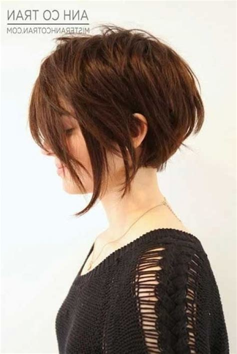 the back if an asymmetrical short curl haircuts asymmetrical bob curly back www pixshark com images