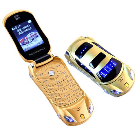 mobile phone flip original newmind f15 flip mini phone with dual sim