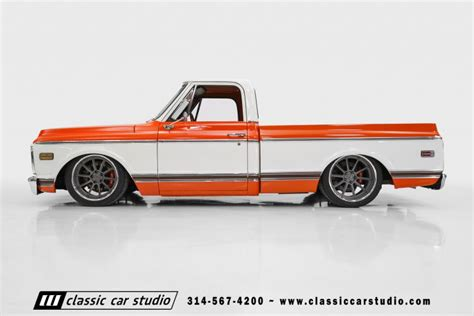 Mustang Bed 1970 Chevrolet C10 Pro Touring Classic Car Studio